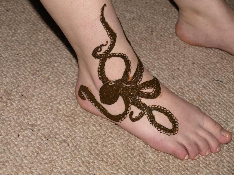 Octopus Foot